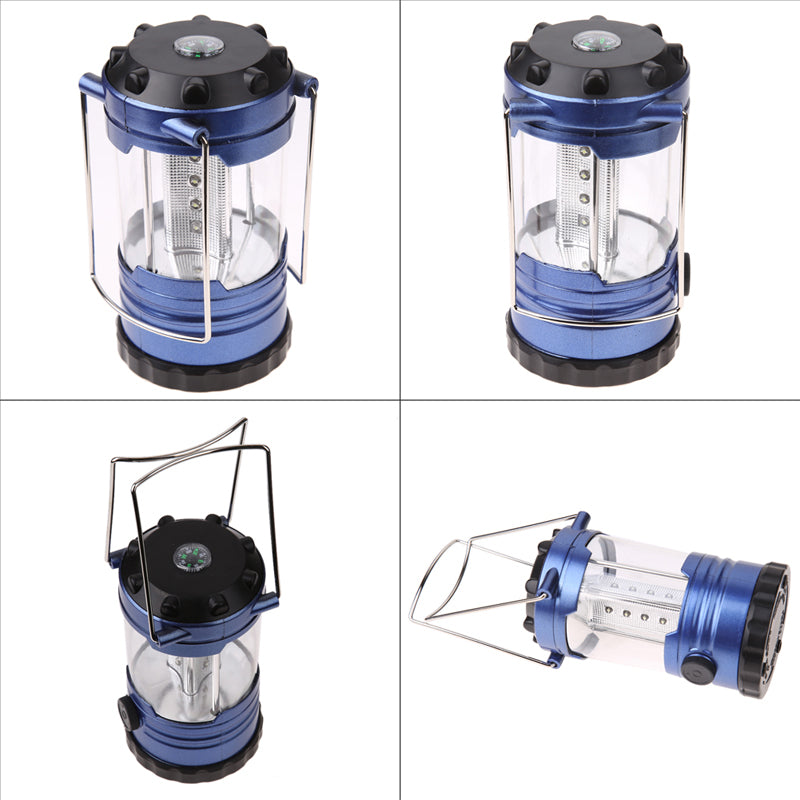 Camping Lantern With Compass Adjustable LED - Trekmor
