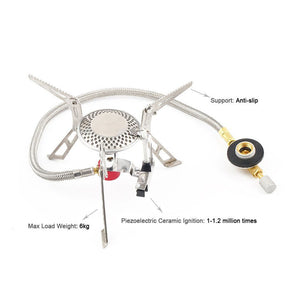 Camping Gas Stove with Piezo Ignition - Trekmor