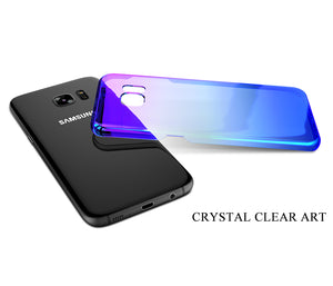 Color Changing Blue-Ray transparent gradient Case (Samsung & Apple phones) - Trekmor