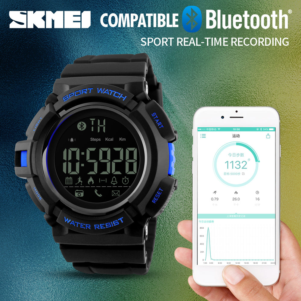 Bluetooth Smart Watch/ Fitness Tracker - Trekmor