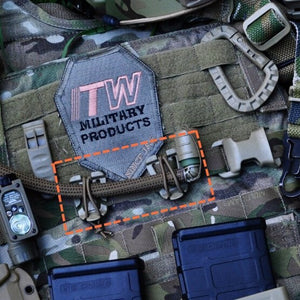 Molle Backpack Elastic Rope Webbing Buckle 10 Pcs - Trekmor