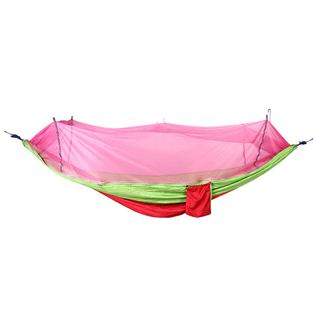 Parachute Hammock Single Person with Bug Net - Trekmor