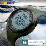 Men's Digital Outdoors Compass Watch - Trekmor