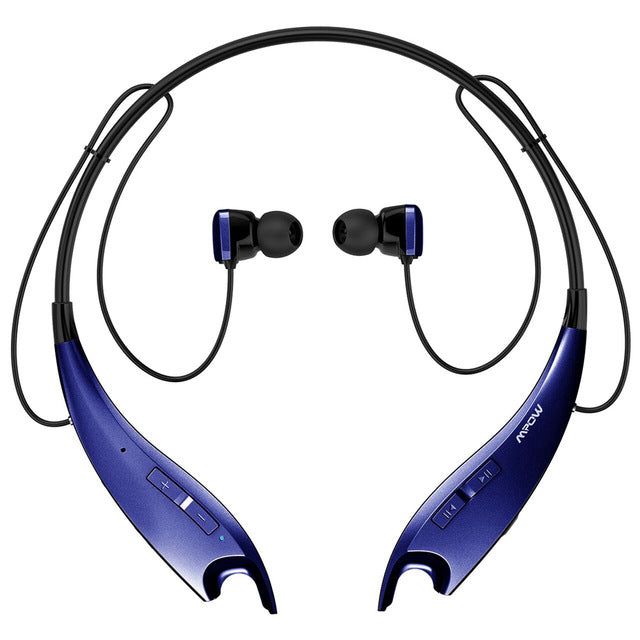 Jaws Wireless Bluetooth 4.1 Headphone Neck Band - Trekmor