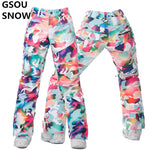 Women Snowboard Pants Ladies Ski Pants - Trekmor