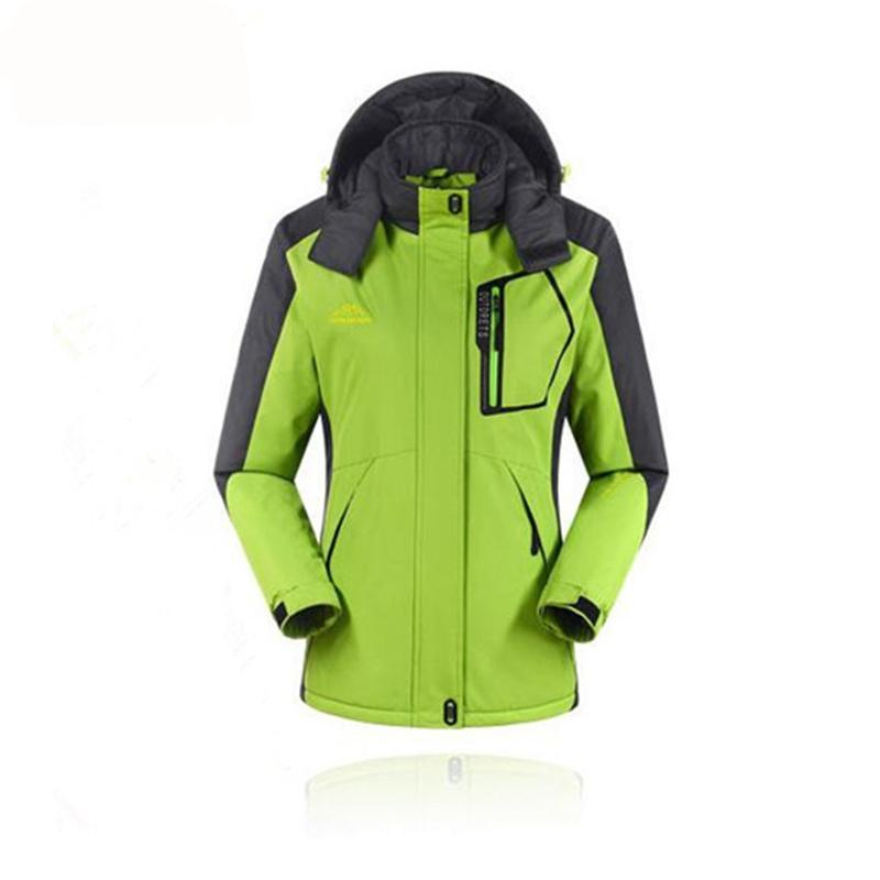 Women Winter Skiing Snowboarding Waterproof Wind Stopper Jacket - Trekmor