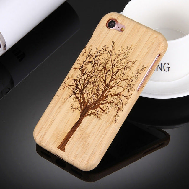 Real Wood Phone Cases For Apple iPhone 7 - Trekmor