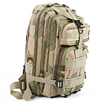 Tactical MOLLE 25L Backpack - Trekmor