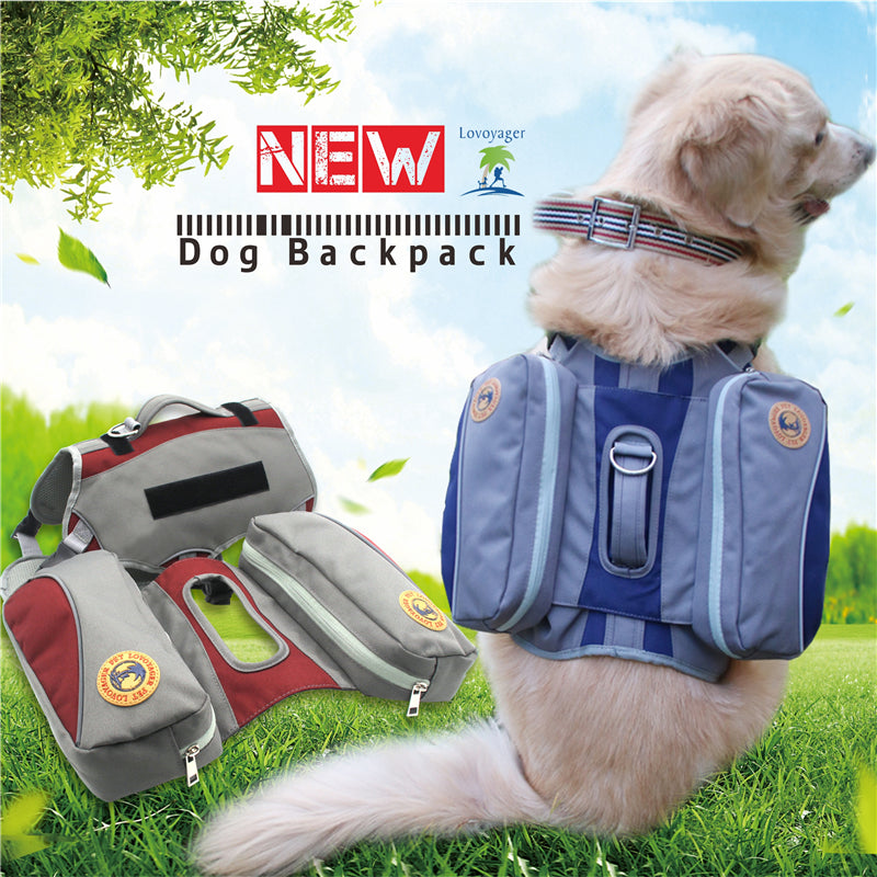 Harness/Backpack For Large Dog Breeds - Trekmor