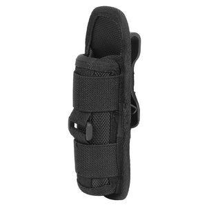 Tactical Flashlight Holder 360 Degree Rotatable Clip for MOLLE or Belt - Trekmor