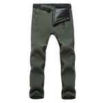Men's Winter Softshell Fleece Pants - Trekmor