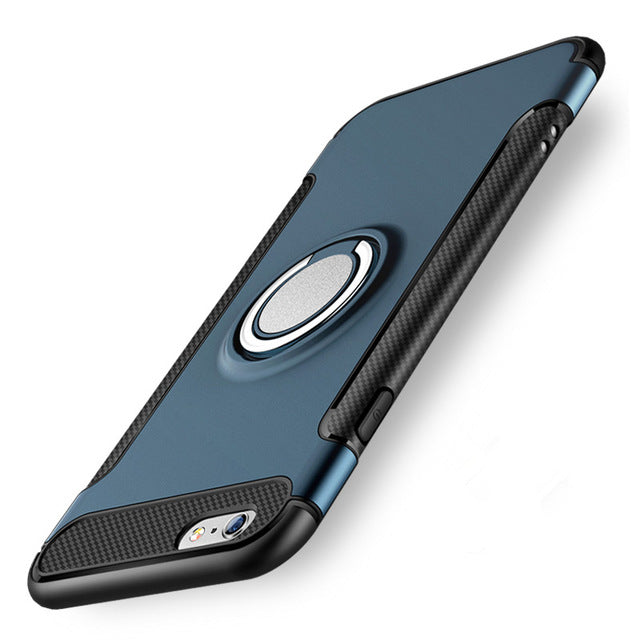 iPhone Case With Metal 360º ring/stand - Trekmor