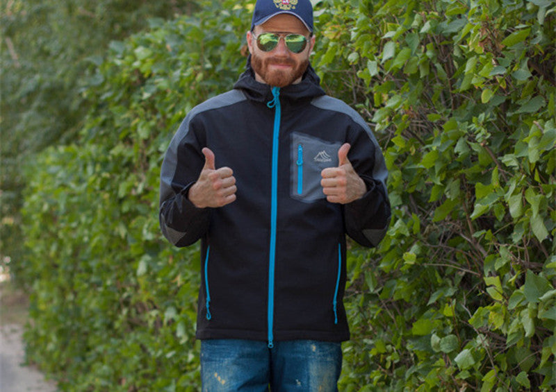Waterproof Softshell Hooded Jacket - Trekmor