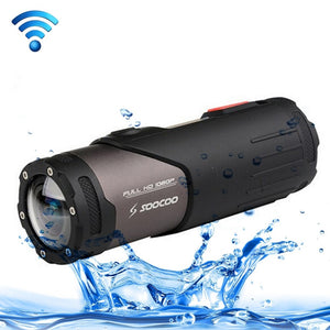 SOOCOO S20WS HD 1080P WiFi Sports Action Camera, 170 Degrees Wide Angle Lens, 15m Waterproof camera - Trekmor