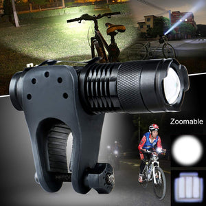 CREE Q5 Adjustable Focus 2000 Lumens LED Flashlight FREE + Shipping - Trekmor