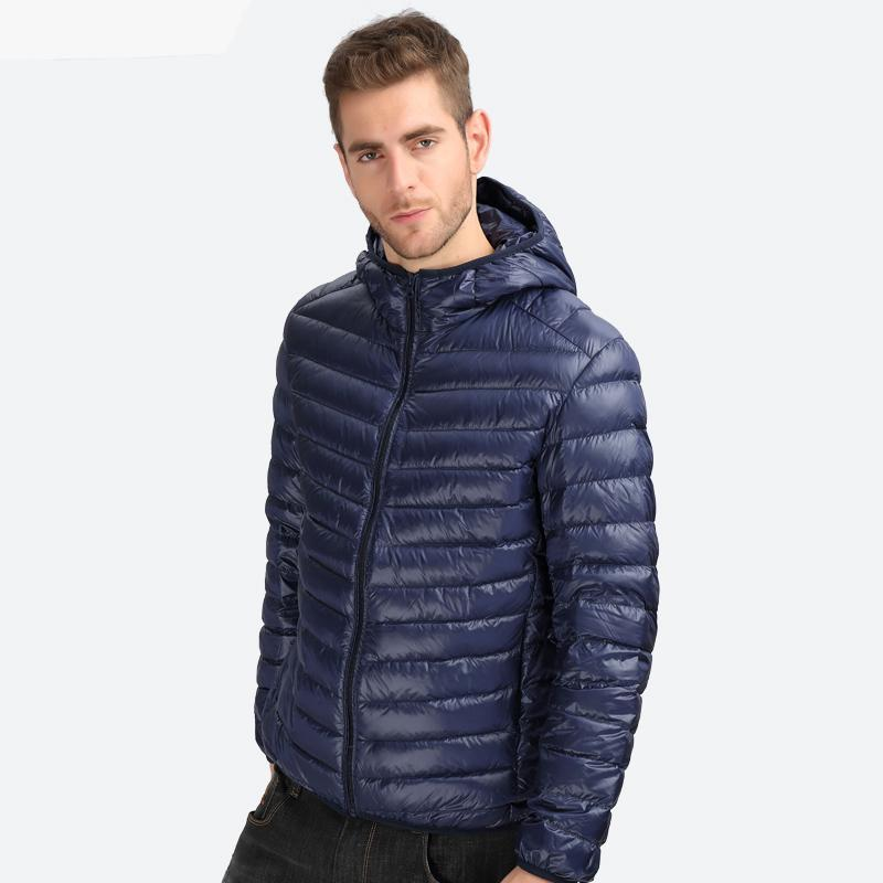 Men's Down Jacket Hooded - Trekmor