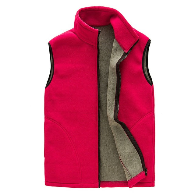 Men's Spring Fleece Softshell Vest - Trekmor