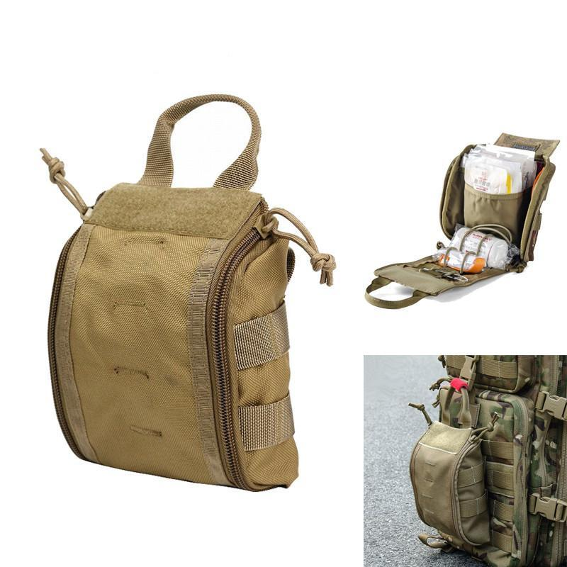 1000D MOLLE Tactical First Aid/ Utility Medical Accessory Bag