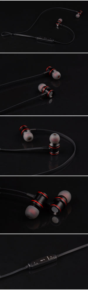 Bluetooth V4.2 Earphone Metal Headset - Trekmor