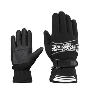 Waterproof Ski Gloves Snowboard Men Women - Trekmor