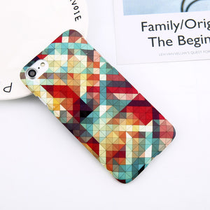 Colorful Geometric iPhone Case - Trekmor