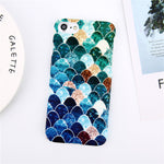 Colorful Scales Art iPhone Case - Trekmor