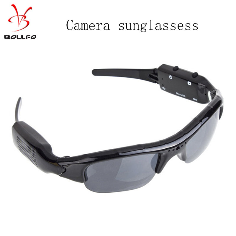 Digital Audio Video Mini Camera Sunglasses - Trekmor