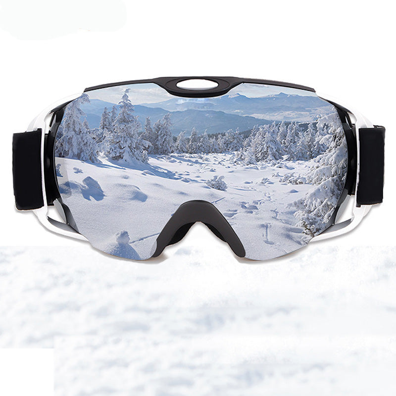 Ski Goggles Double Lens UV400 Anti-fog Skiing Glasses - Trekmor