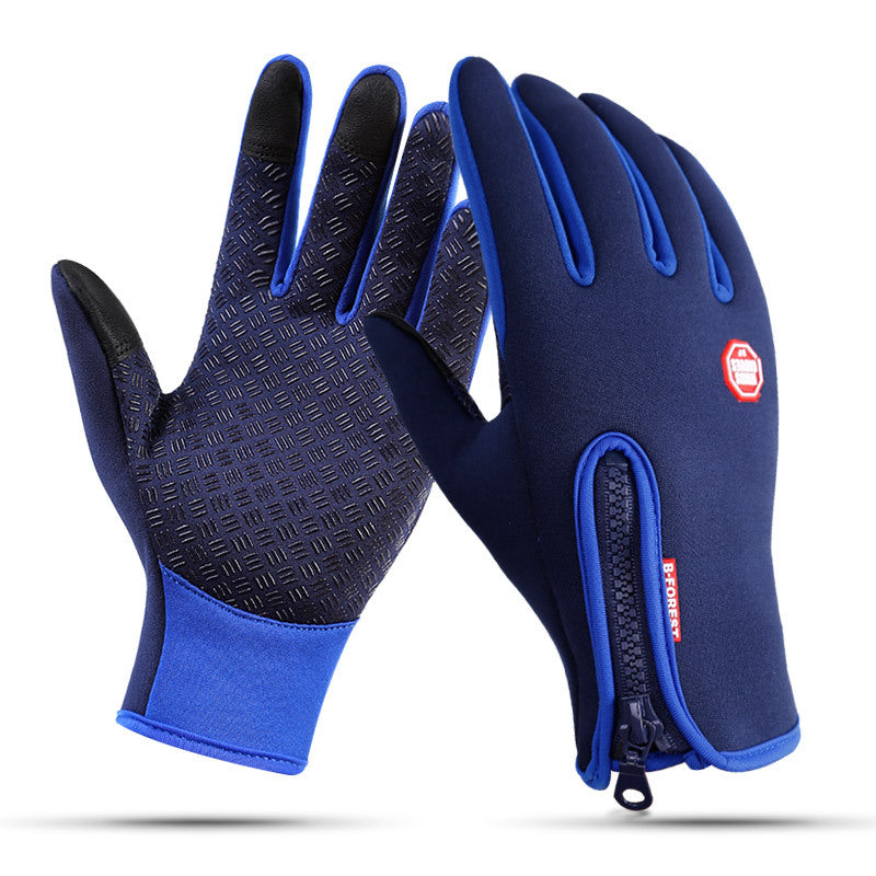 Winter Touch Screen Ski Gloves men women Waterproof - Trekmor