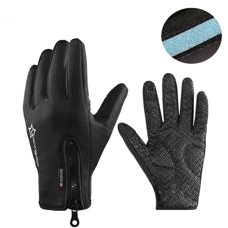 Anti-slip Ski Gloves Thermal Waterproof Screen Skiing Glove - Trekmor