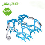 Fourteen Teeth Aluminium Alloy Lightweight Walking Crampons - Trekmor