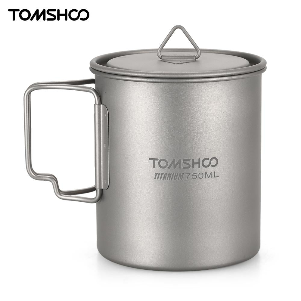 Ultralight 750ml Titanium Cup - Trekmor