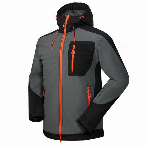 Tech Fleece Waterproof Men's Softshell Jacket - Trekmor