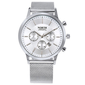 Men's 30M Waterproof Stainless Steel Sport Watch - Trekmor