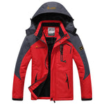 Winter parka windproof men's hooded jackets - Trekmor