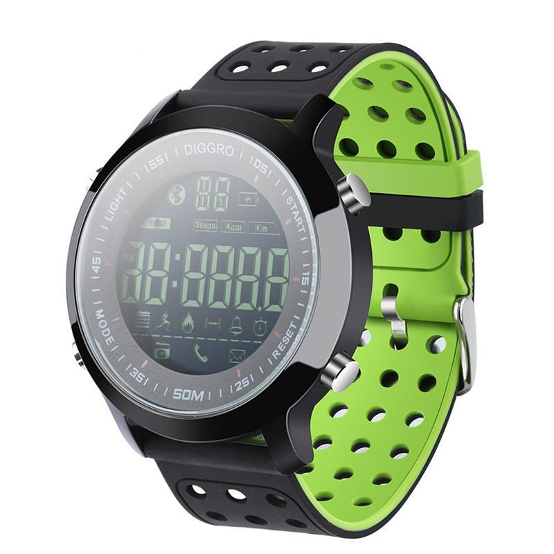 Waterproof Bluetooth Smartwatch Pedometer Stopwatch Clock for Android & IOS - Trekmor