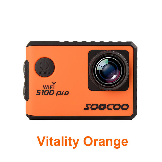 "Action camera SOOCOO S100 pro Ultra HD 4K WiFi waterproof with GPS remote 2.0"" touch lcd - Trekmor"