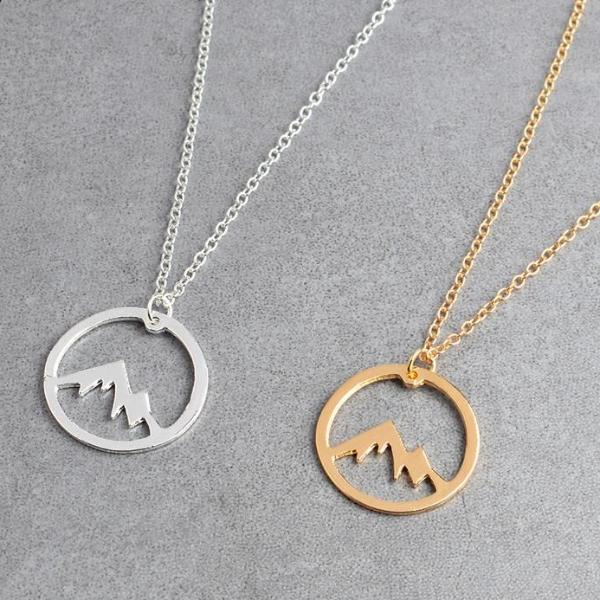 Mountain Charm Necklace - Trekmor