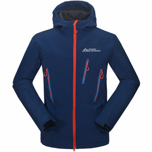 Waterproof Men's Softshell Jacket - Trekmor