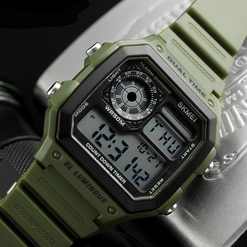 Rugged Digital Sport Watch - Trekmor