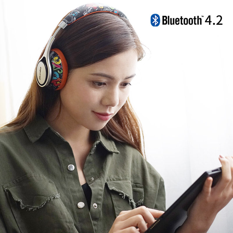 Over The Ear Bluetooth Headphones - Trekmor