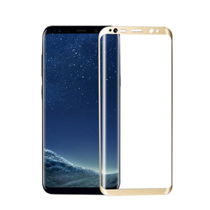3D Full Curved Screen Protector Tempered Glass For Samsung S8 / S9, Galaxy S8 Plus - Trekmor
