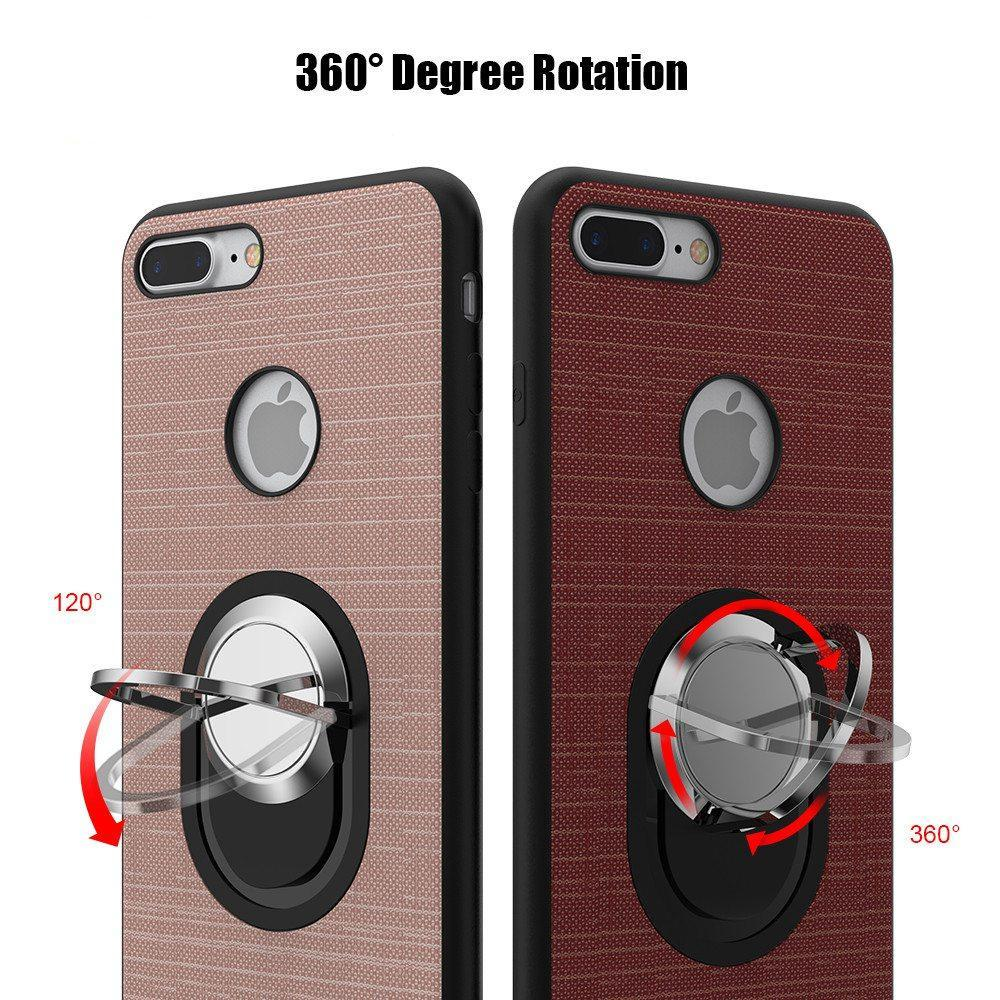 Finger Ring Grip - Magnetic Mount Phone Case - Trekmor