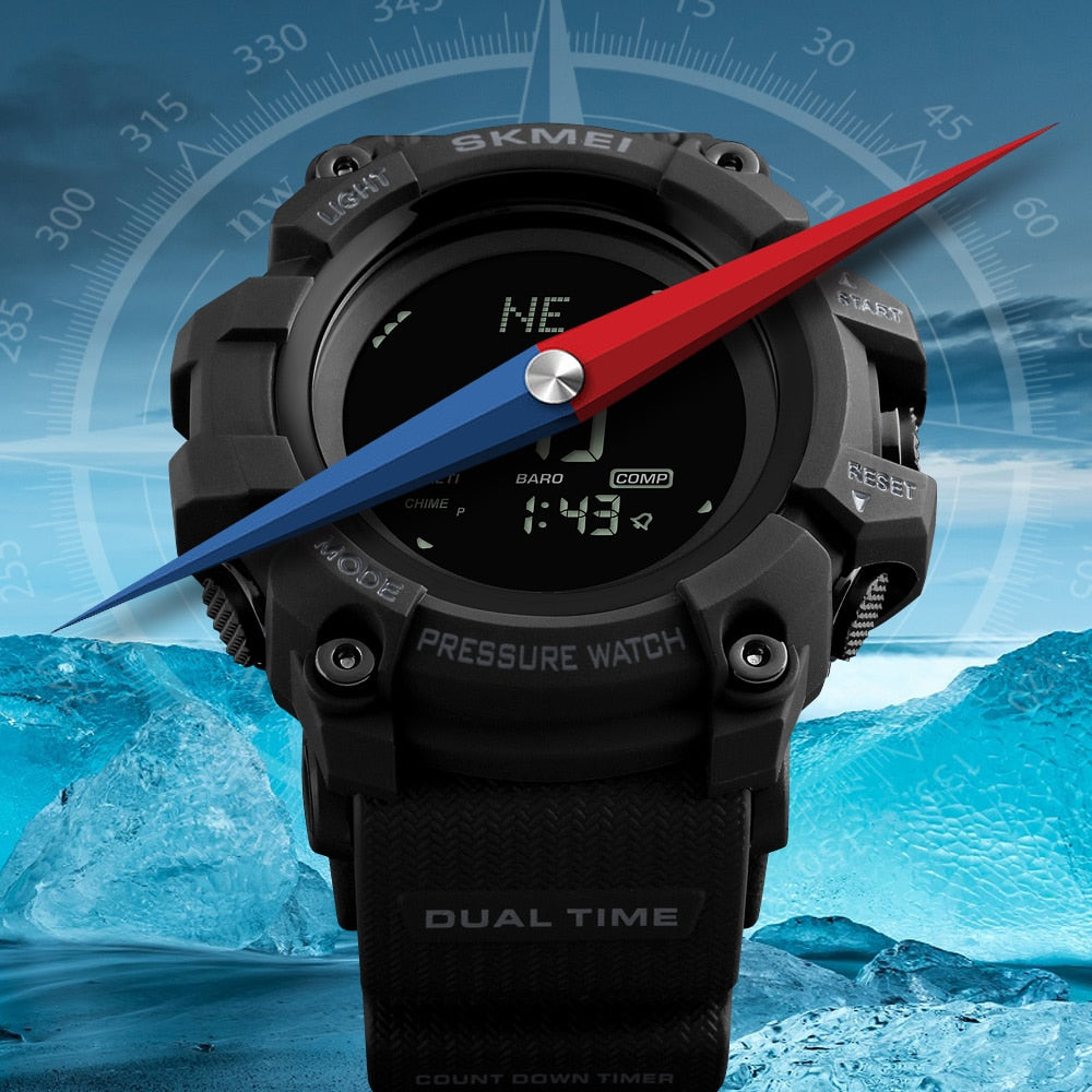 Rugged Mountain Sport Watch - Trekmor