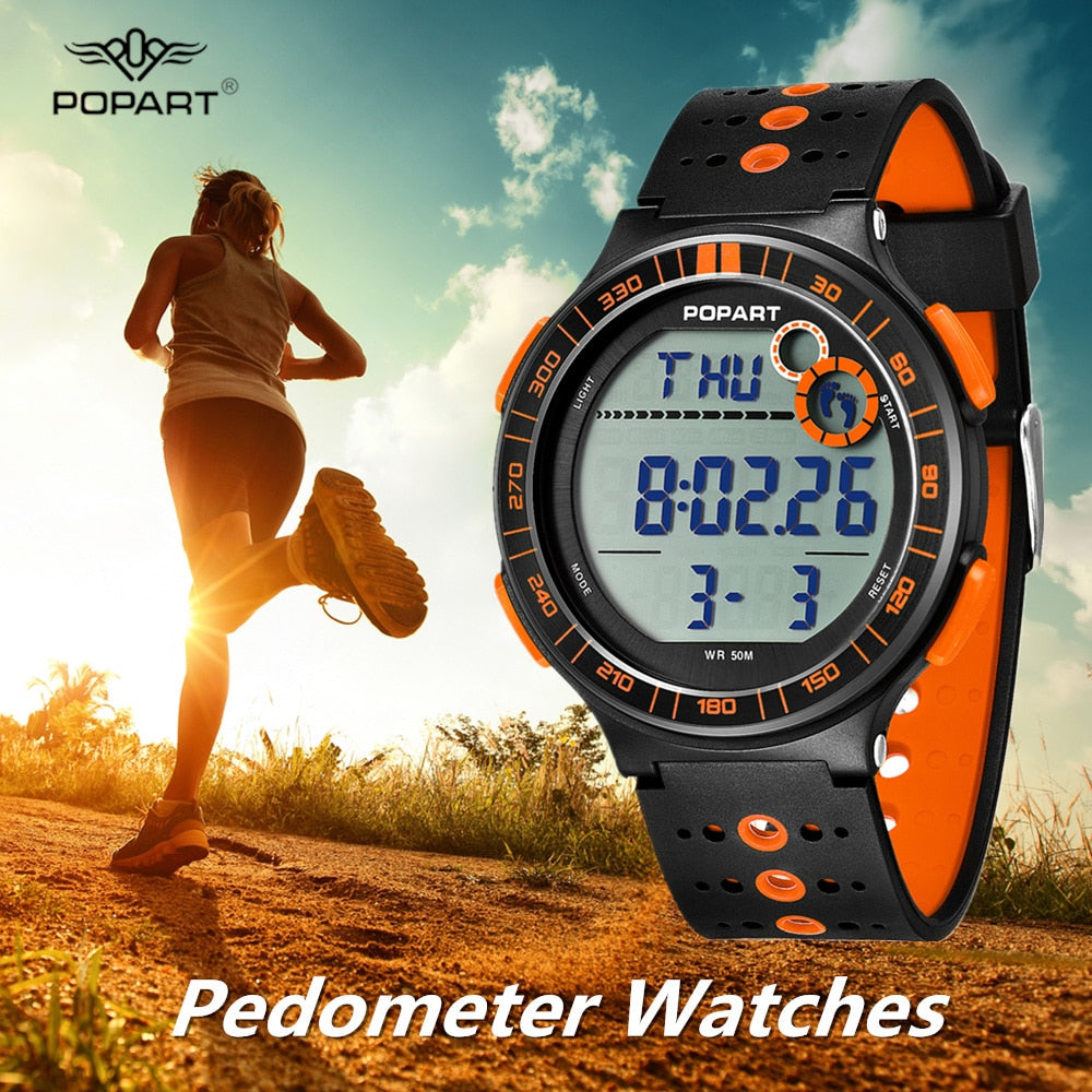 Women's Pedometer Sport Watch - Trekmor
