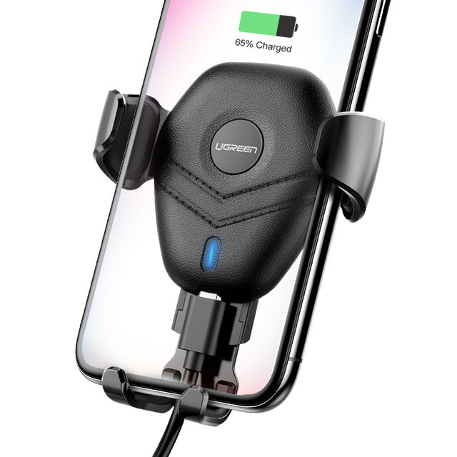 Wireless Qi charger Car Vent Mount - Trekmor