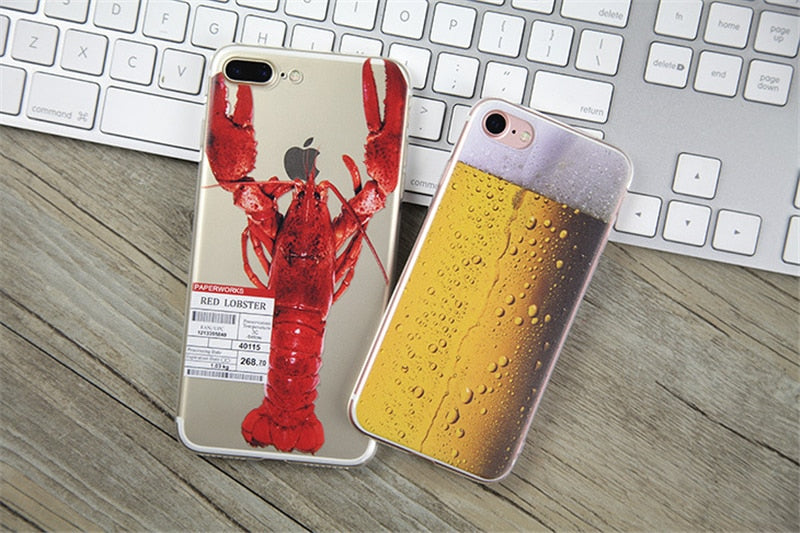 Funny Food Silicone iPhone Covers - Trekmor