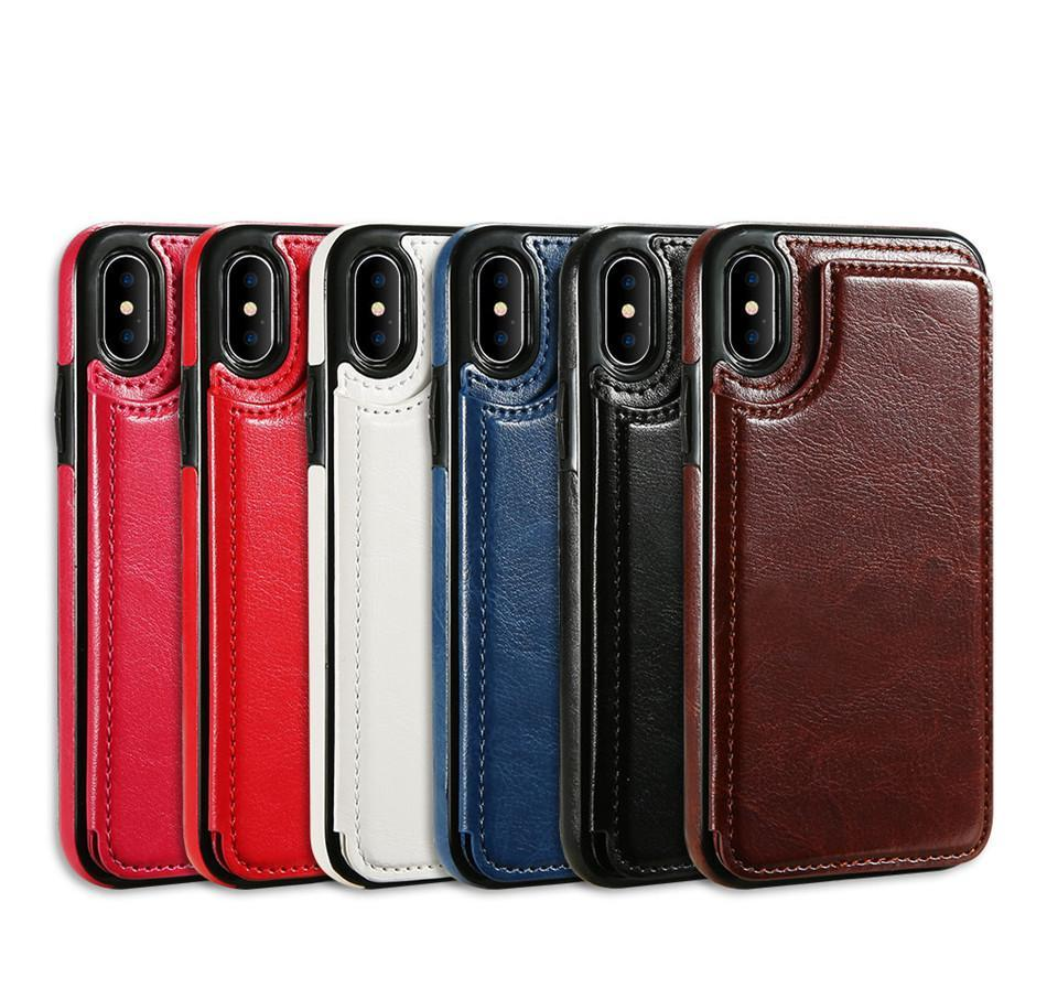 Leather Wallet iPhone Case - Trekmor