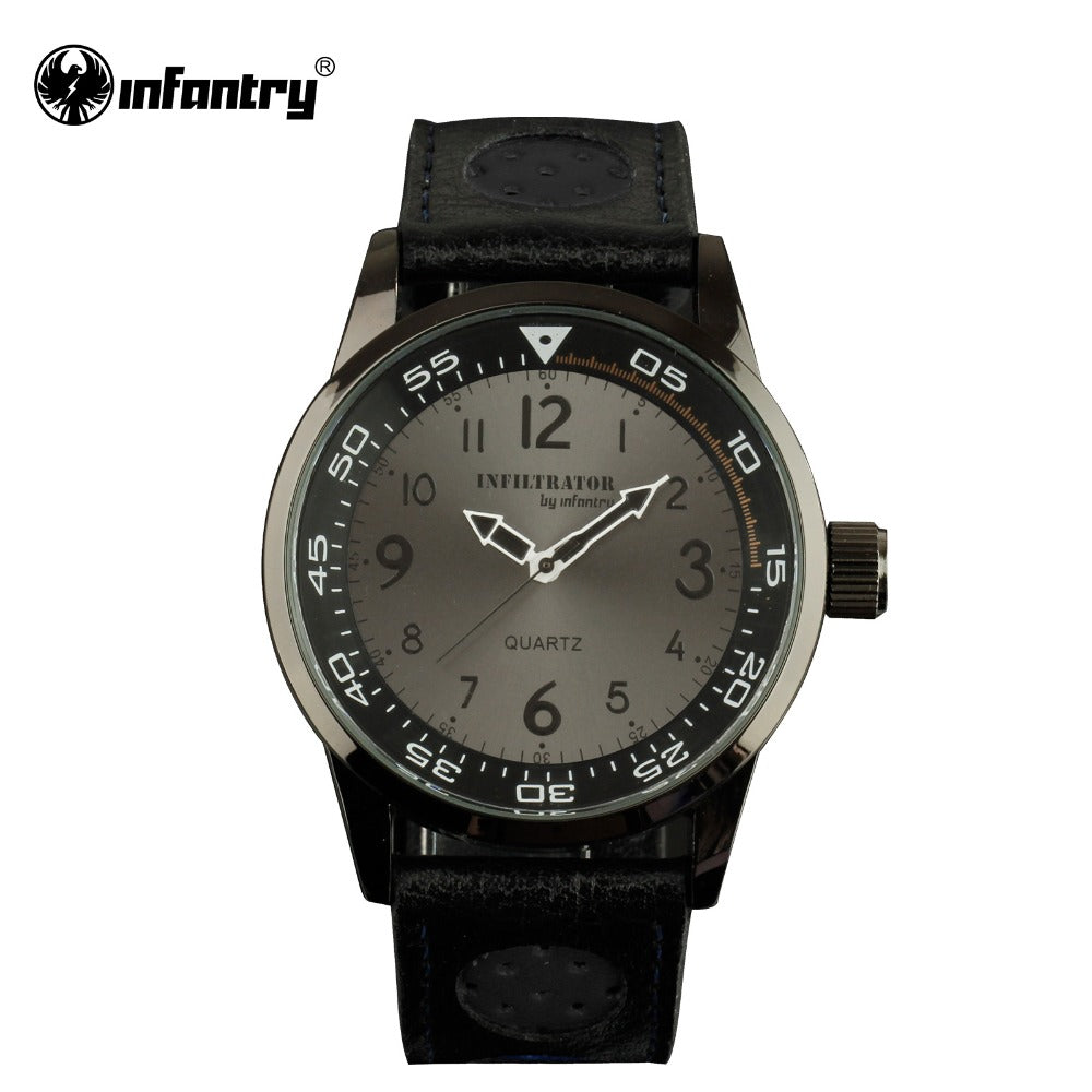 INFANTRY Military Minimalist Analog Watch - Trekmor