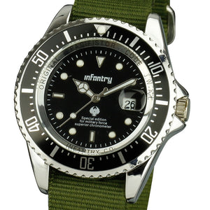 INFANTRY Military Men's Analog Wristwatch - Trekmor